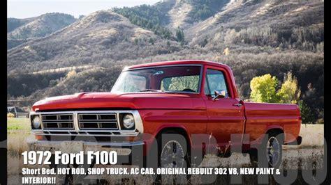1972 ford custom truck 1972 ford f100 sport custom rod shop truck new