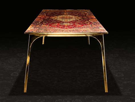 Ruben Megen by Ruben Megen Covers Tabletops With Carpets