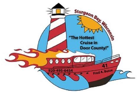 fireboat ride sturgeon bay sturgeon bay door county experience sturgeon bay