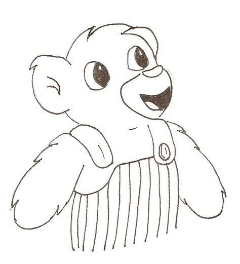 corduroy bear by aldenar on deviantart