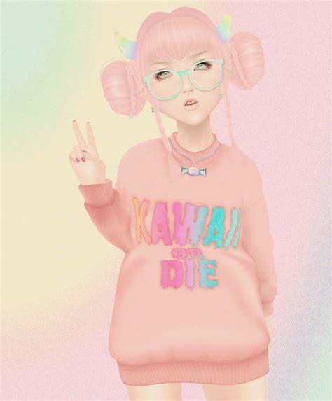 tumblr kawaii sims 4 cc kawaii sims 4 love 4 this dress tumblr kawaii sims 4