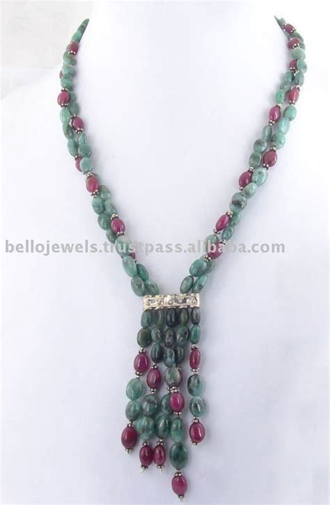 Handmade Bead Necklace - 17 best ideas about handmade beaded jewelry on