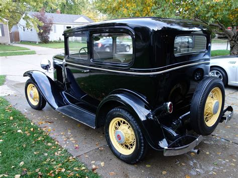 chevrolet sedan 1931 chevy 2 door sedan great condition runs great rust