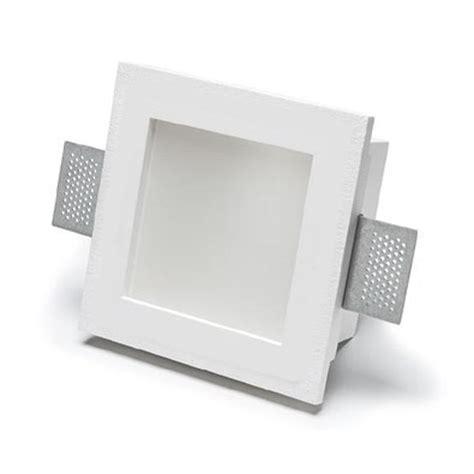 porta faretti da incasso porta faretto da incasso in gesso a scomparsa quadrato con