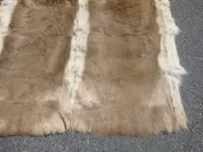 antelope rug antelope fur hide rug at 1stdibs