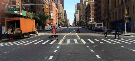 nacto streetsblog new york city eyes on the street dot begins filling gap in first av