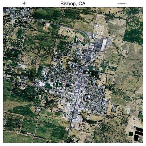 bishop california map aerial photography map of bishop ca california