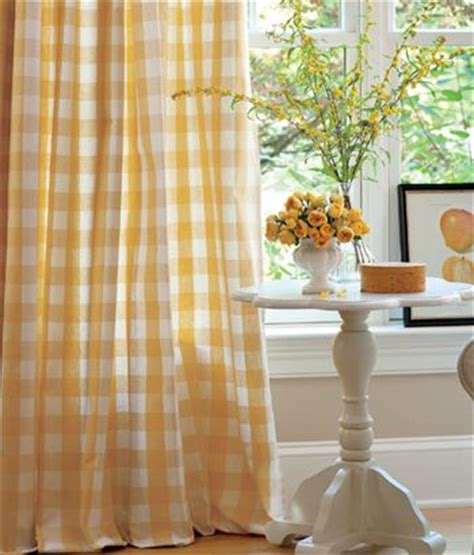 yellow gingham kitchen curtains yellow gingham home is where the is