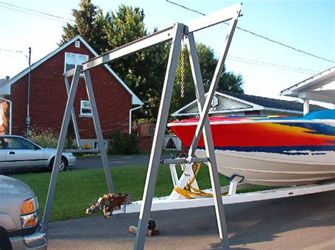 boat engine lift need an a frame engine hoist offshoreonly