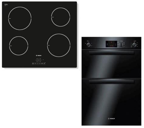 bosch electric induction hob bosch hbm13b160b electric oven with pia611b68b electric induction hob black