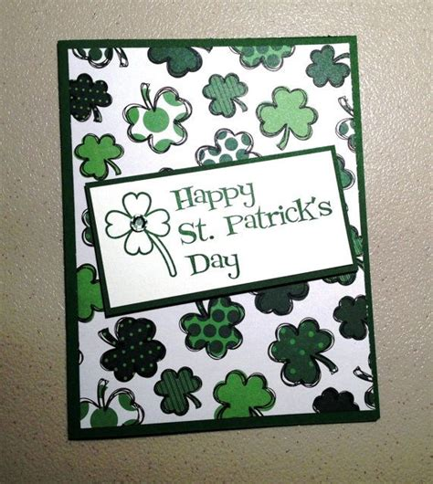 Handmade St - 31 best images about st patricks day cards on
