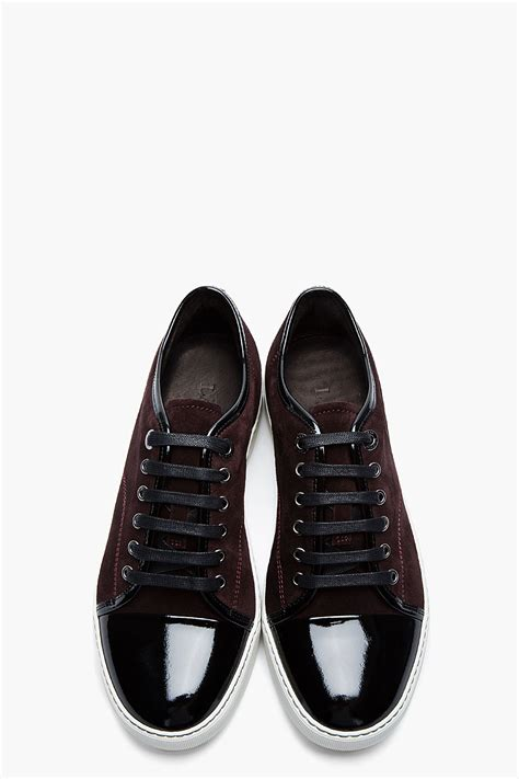 lanvin sneakers lanvin cap toe tennis sneakers collection soletopia
