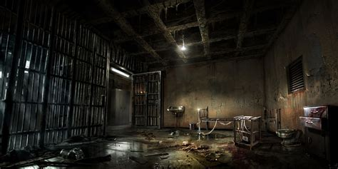 prison room prison room characters alone in the