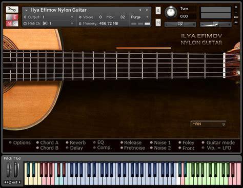 Sound Library Kontakt ilya efimov guitar guitar sle library for ni kontakt