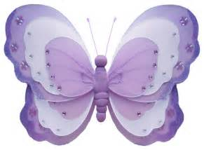 large butterfly decorations butterfly decorations x large purple hanging