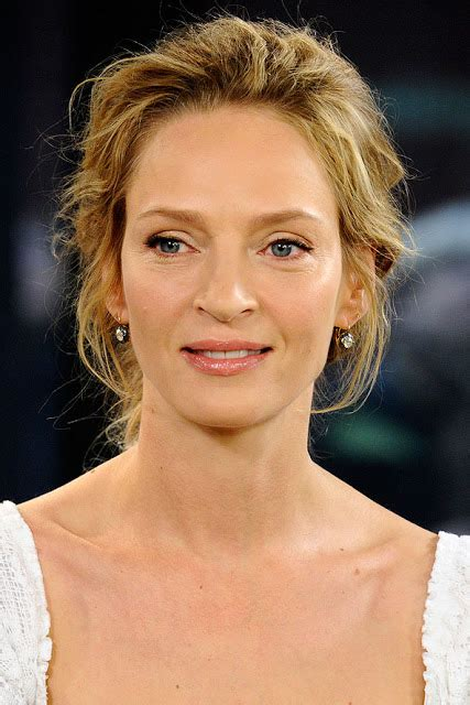 Uma Thurman Hairstyles by Uma Thurman Hairstyles Hairstyles At Home
