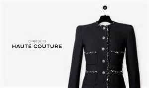 icone haute couture chanel la veste d 233 cod 233 e en vid 233 o
