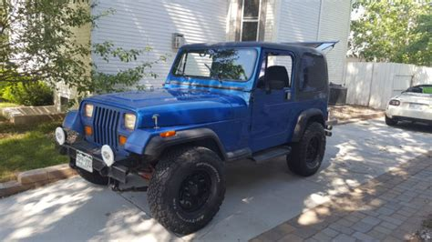 1993 Jeep Wrangler Sport 1993 Jeep Wrangler S Sport For Sale Jeep Wrangler 1993