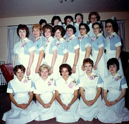 nursing school in toledo student nurses 1964 these are similar to our uniforms