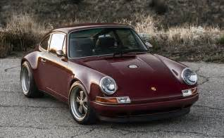 Singer Porsche Singer 911 Carolina And Florida Set For Concours