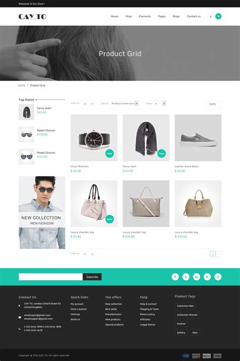 drupal themes clothing cayto responsive drupal theme by webcrest themes