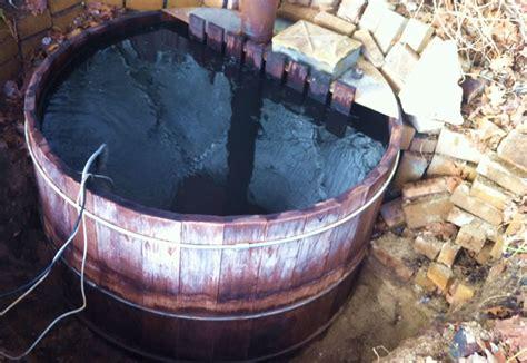 wood burning bathtub round wood hot tubs spadepot com