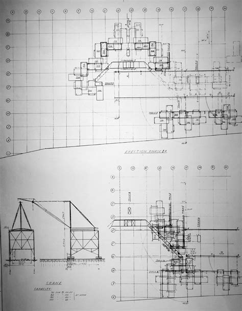 plan drawings habitat 67 planning and architectural drawings