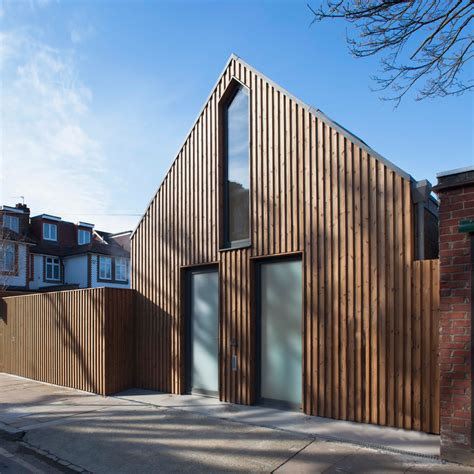 timber architecture giles pike architects completes timber clad house for a