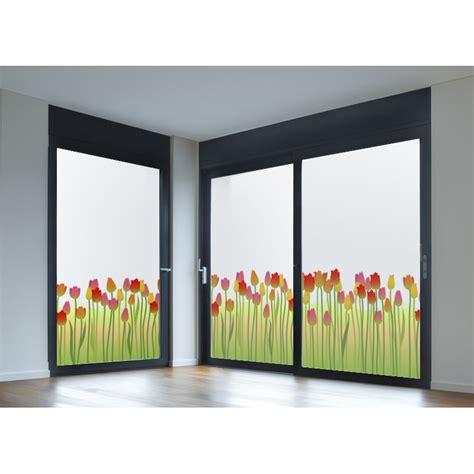vinilos translucidos para ventanas leroy merlin vinilos para cristales vinilo transl 250 cido impreso tulipanes