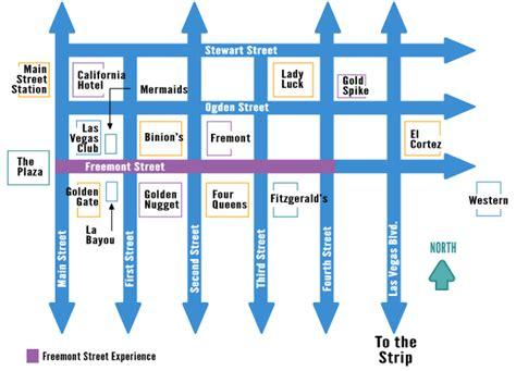 map of downtown las vegas downtown las vegas map