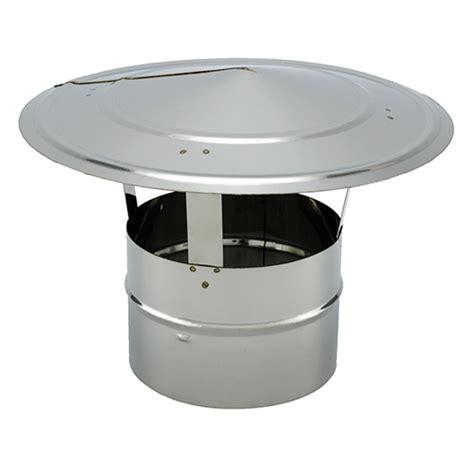 chapeau cheminee inox chapeaux chinoi en inox 304 pour simple paroi vm