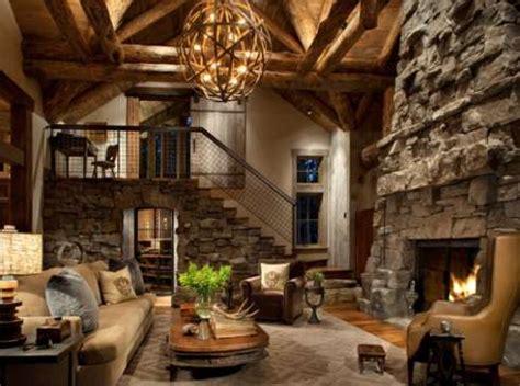 custom stone fireplaces rock