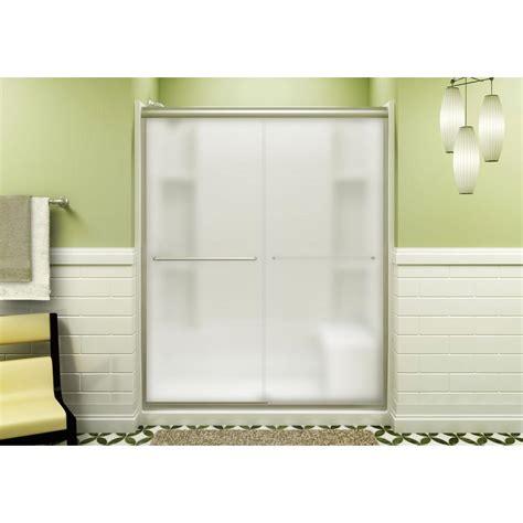 Sterling Sliding Shower Doors Sterling Finesse 59 5 8 In X 70 1 16 In Semi Frameless