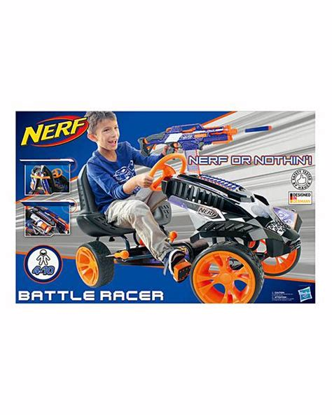 nerf battle racer nerf battle racer go kart fashion world