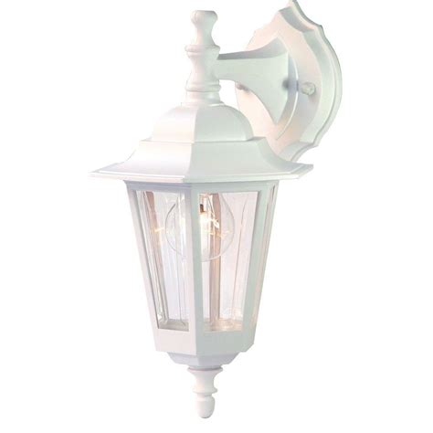 Acclaim Lighting Tidewater Collection 1 Light Textured White Outdoor Light Fixtures