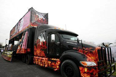 bbq food truck design ba bbq turns 18 wheeler into food truck with 10 grills