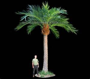 Artificial Topiaries Outdoor - outdoor artificial date palm tree commercial silk int l