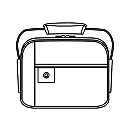 free coloring pages of healthy lunchbox