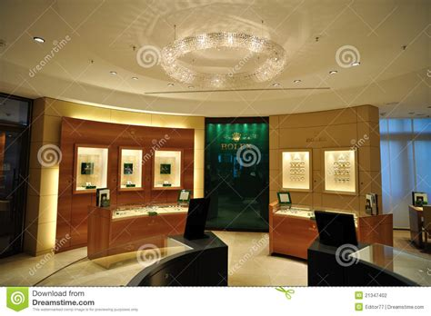 rolex store  editorial photography image  shopping