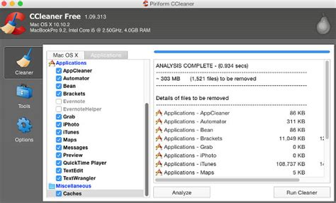 ccleaner x mac clean junk from the disk with ccleaner for a leaner