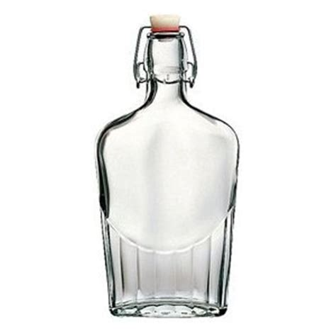 glass flask bottles with swing top bormioli rocco 250 ml clear swing top flask bottles