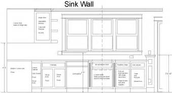 Kitchen Sink Window Size Standard Cabinet Sizes Design Photos