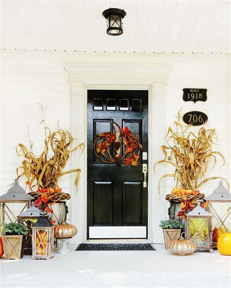 fall front door twelve fall door decorating ideas thistlewood farm