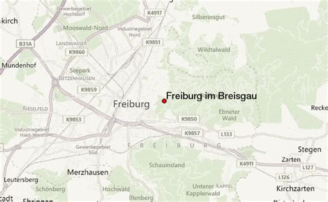 map of freiburg freiburg location guide