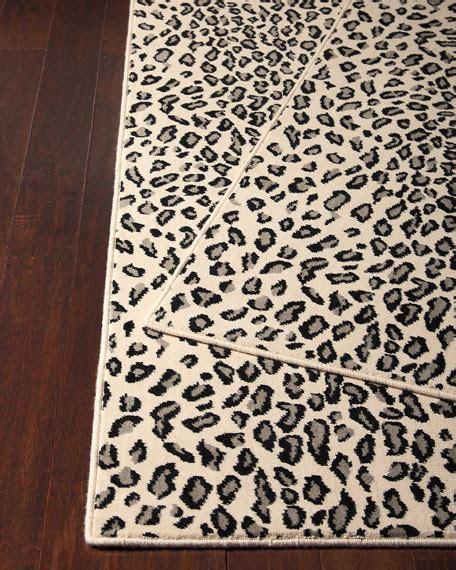 snow leopard rug lea snow leopard rug 3 x 5