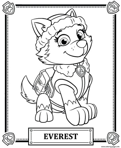 Paw Patrol Coloring Pages Marshall Ialoveni Info