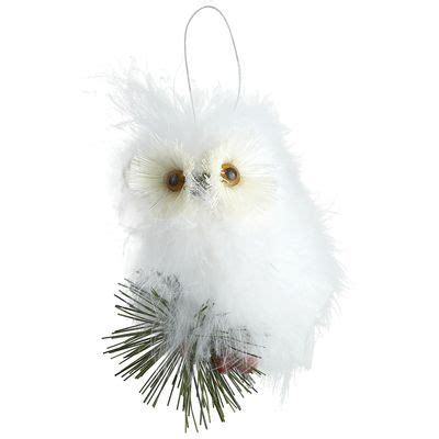 feather owl ornament christmas tree pinterest