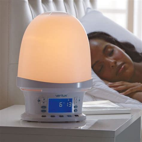gradual light alarm clock rise shine natural wake up light alarm clock when