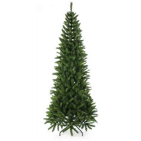 fir green 6 5ft regency slim green fir artificial christmas tree