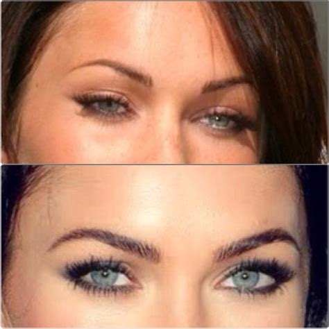 tattooed eyebrows eyebrow roulakaramfacecouture